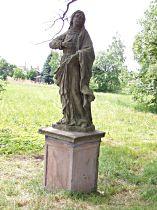Restaurovaná socha Panny Marie - 28.5.2003