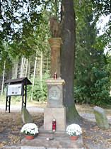 Sloup se sochou sv. Václava - 2009