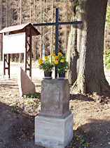 Stav památky, opravené p. Jirotkou v roce 2005, před celkovou obnovou.