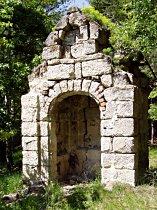Kapelle vor der Reparatur