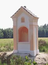 Kaplička u cesty z Lasvic do Nových Domků - červenec 2006