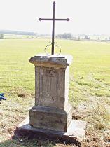 Kříž u silnice do Bohatic - 4.9.2004