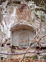 Stav výklenku před obnovou, 17.11.2003