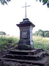 Kreuz unter dem Berg Havraní vrch - 24.7.2005