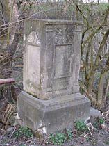 Stav kříže před opravou, 6.4.2005