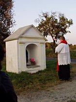 Požehnání obrázku Panny Marie Deštné, 28.10.2008