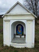 Kaplička u silnice do Tachova - 23.12.2008